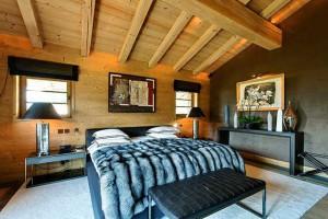 Мебель для интерьера шале может быть очень современной