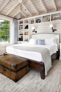 Крайне уютная светлая спальня