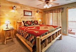 Пример продуманного интерьера спальни