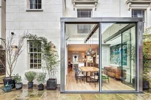 Современный интерьер английского дома