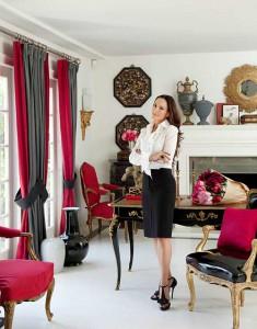 Классический декаданс в интерьере гостиной