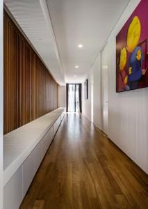 Идеи кубизма в коридоре