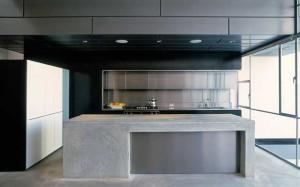 Интерьер кухни в стиле кубизм