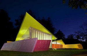Архитектура дома в стиле кубизм