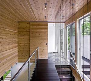 Более приземленный кубизм в архитектуре и интерьере дома