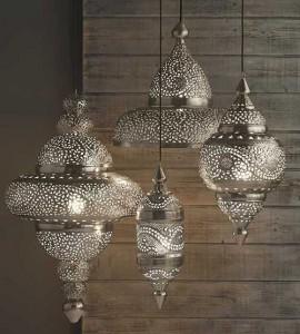 Подвесные марокканские светильники