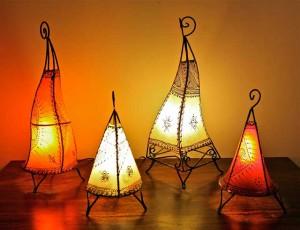 Утонченные марокканские лампы