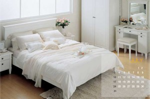 Пример современной мебели для романтического стиля
