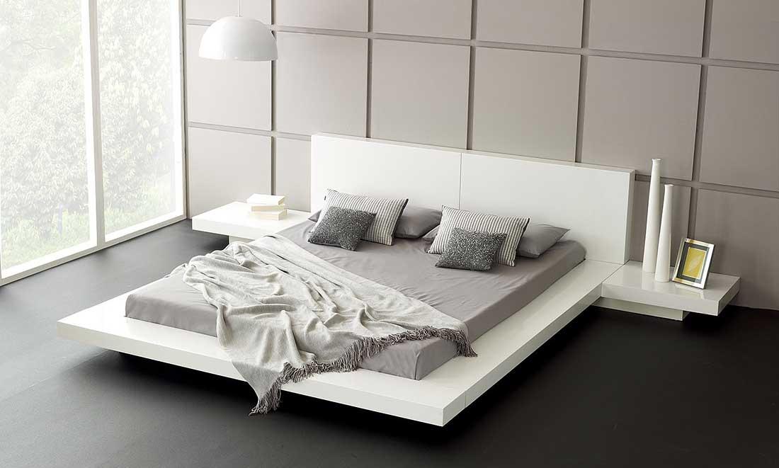 Спальня в японским стиле, фото.