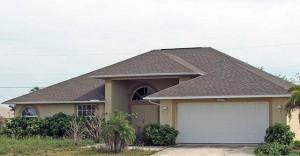 Еще пример вальмовой крыши