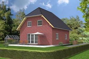 Проекта дома с полувальмовой крышей