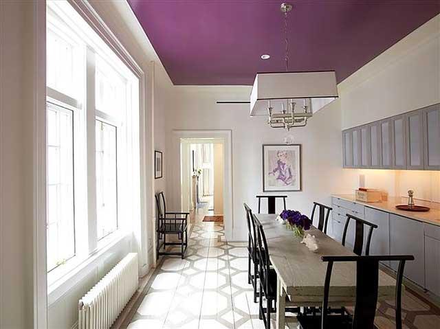 Чем красить потолок