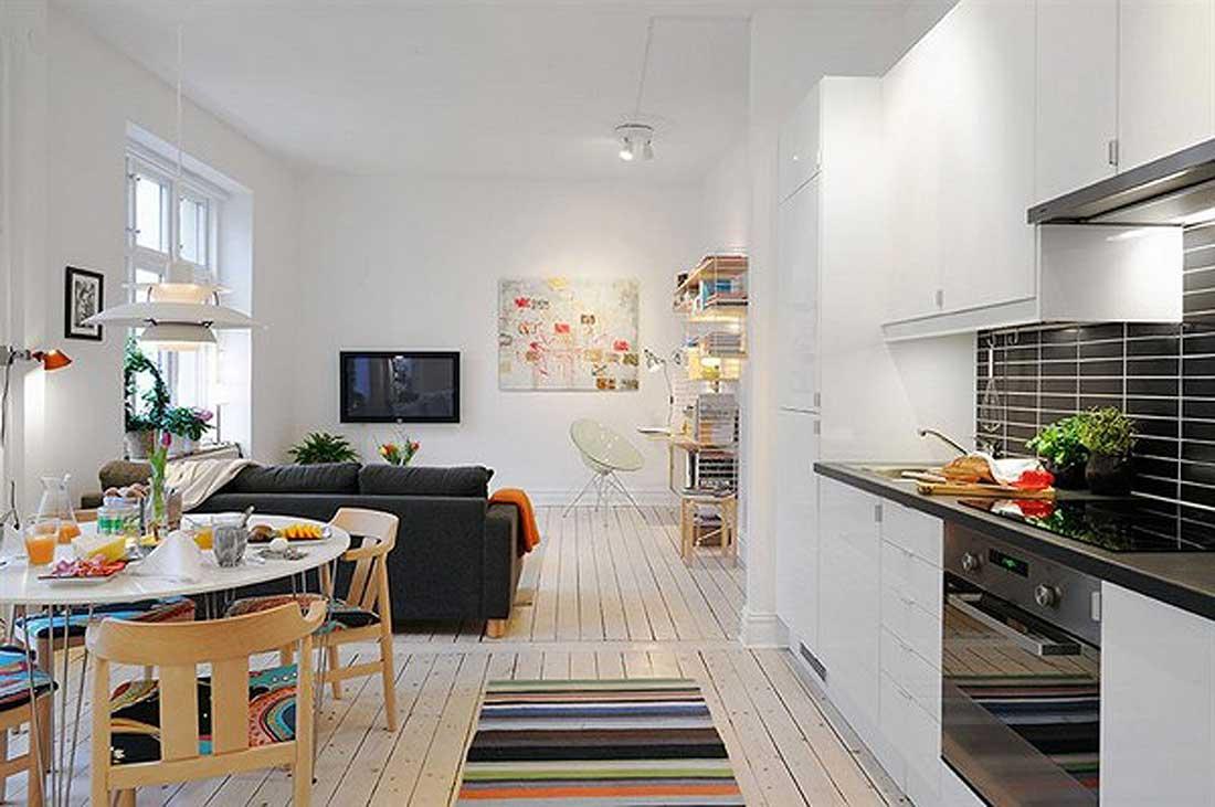 Интерьер для маленькой комнаты.