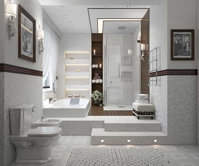 Каотинки и рисунки для ванной комнаты