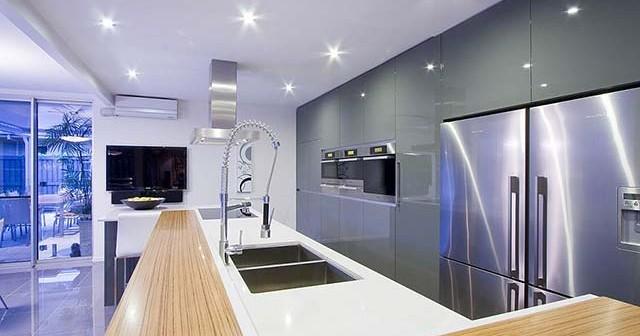 Кухни с барными стойками - фото и дизайн.