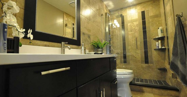 Оформление маленьких ванных комнат.
