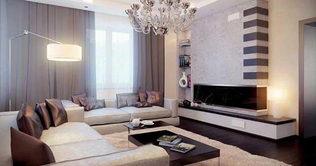 дизайн гостиной и спальни в одной комнате