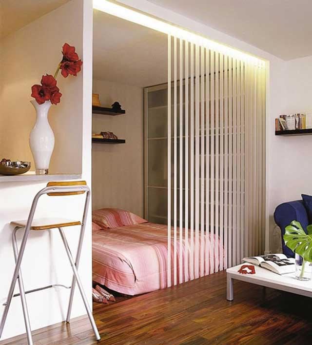Дизайн квартир с перегородками 72