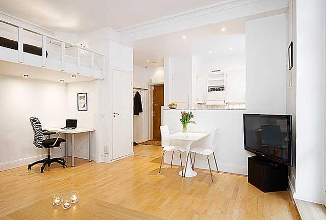 Интерьер малогабаритных квартир.