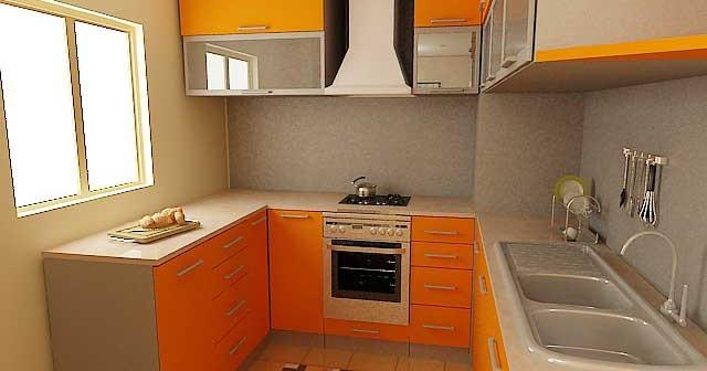 Кухня 6 кв.м - дизайн интерьера.