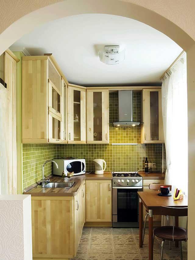 Идеи для ремонта на маленькой кухне фото своими руками
