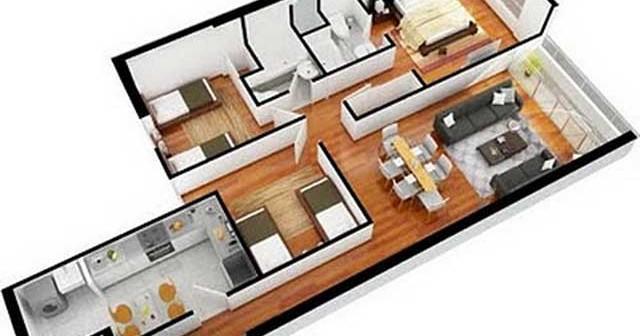 Планировка и перепланировка трехкомнатной квартиры.