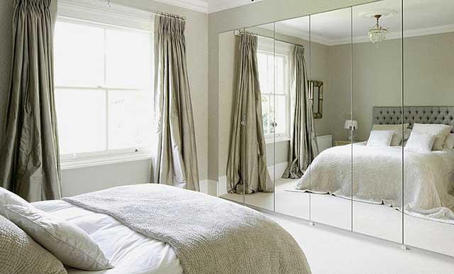 Зеркало в спальне по фэн-шуй