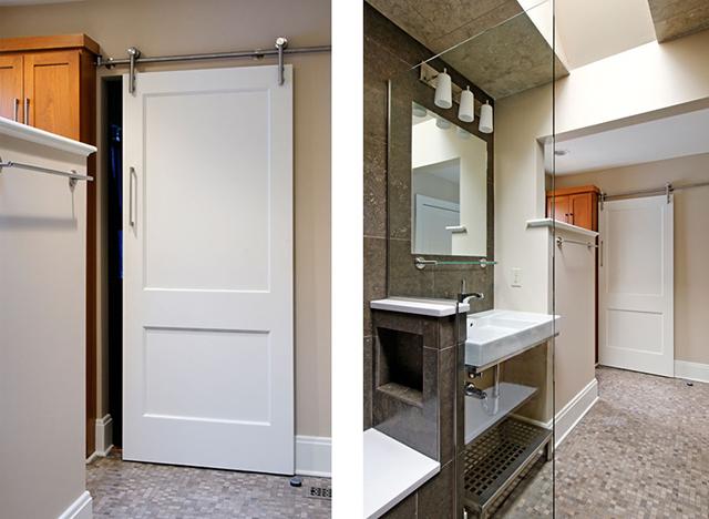 Как сделать двери в ванной 337