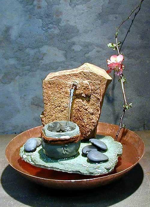 Настольный фонтан своими руками в домашних условиях