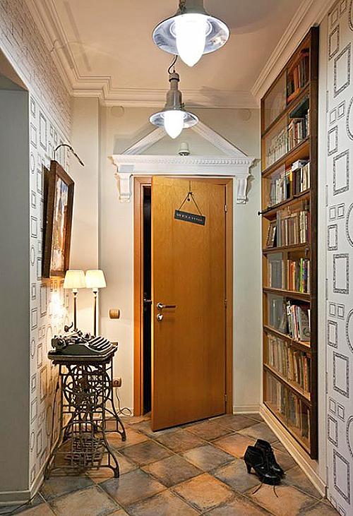 Прихожая для маленького коридора.