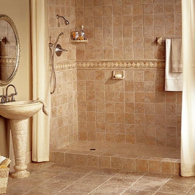 Ванная комната в панельном доме.