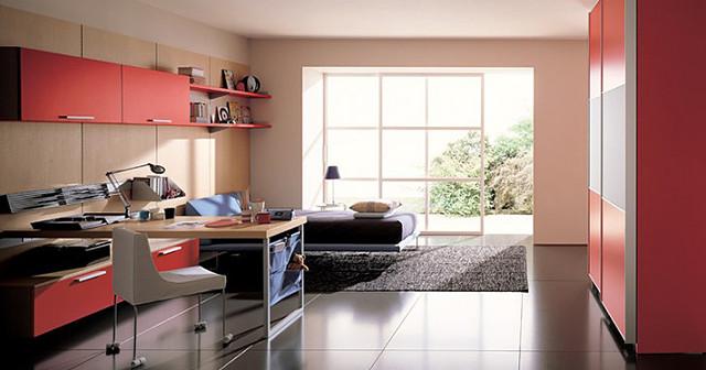 Дизайн подростковой комнаты для девочки.