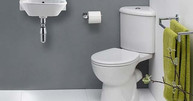 Маленькие раковины для туалета.