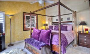 Спальня в египетском стиле.
