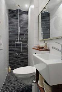 Отличный пример использования пространства в ванной