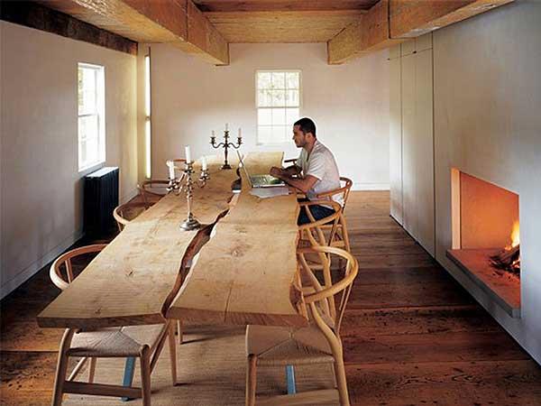 Внутренний дизайн деревенского дома фото