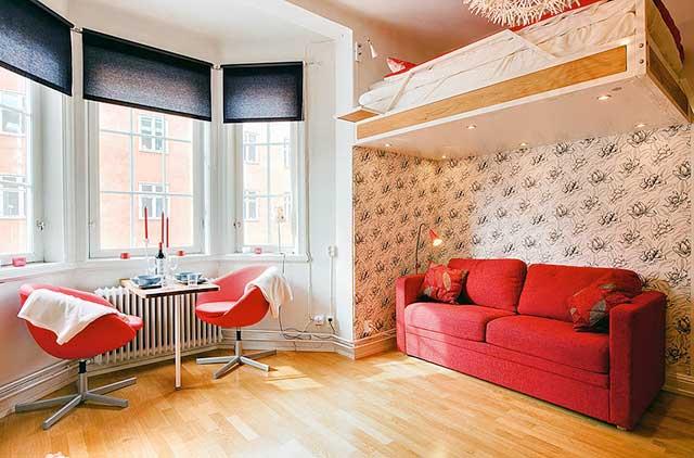 Интерьеры малогабаритных квартир - дизайн и фото.