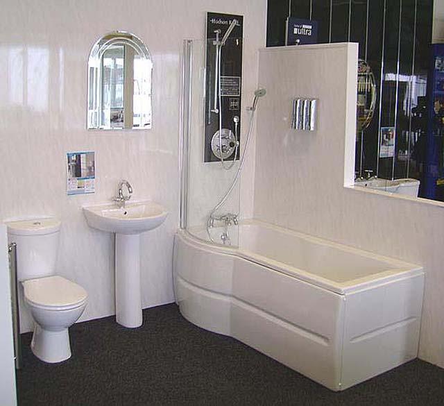 Пластик для ванной комнаты.