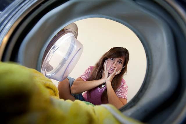 Класс стиральной машины указан на наклейке